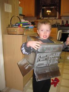 I angry robot!