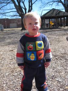 Mr. Cranky Goes to the Park
