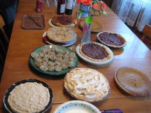 This was not all the pies