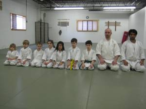 The aikido class
