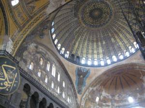 The domes of Hagia Sophia