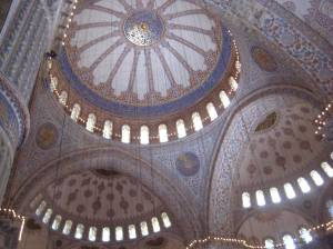 The Blue Mosque - one big room