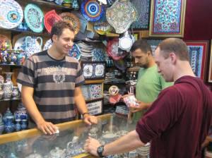 Dickering in the Grand Bazaar