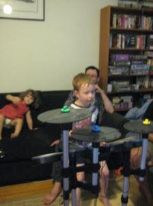 Grey also likes Rock Band