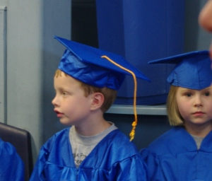 The young graduate, a member of the class of 2011