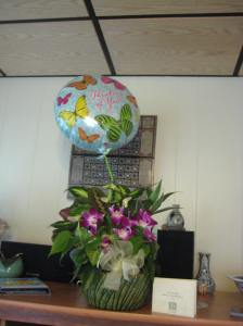 My office sent flowers!!!