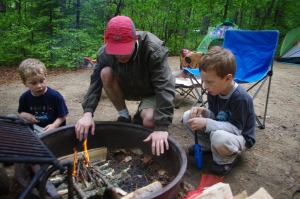 Learning how to make fire