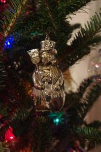 My silver snowman