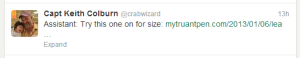 Best Blog Day Ever: My post got retweeted by one of the Deadliest Catch Captains
