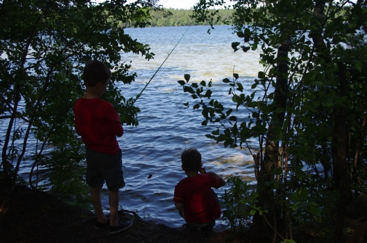 This year we attempted fishing.