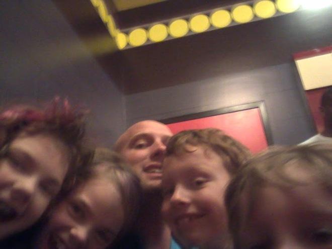 The children at Lego Land