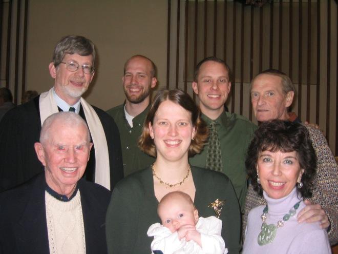 At Grey's baptism