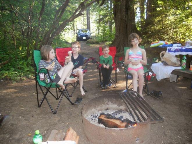 Camping at Camp Gramp
