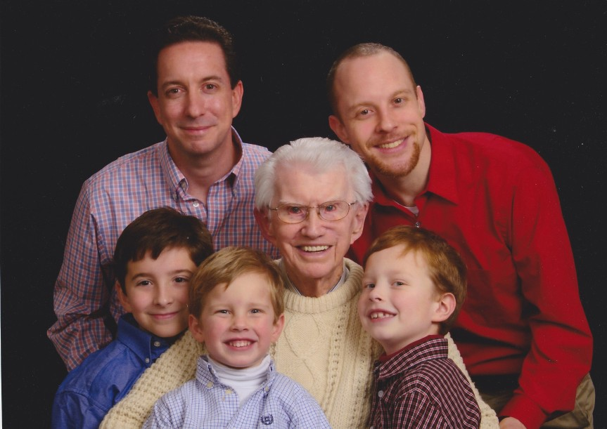 John and (great) grandsons
