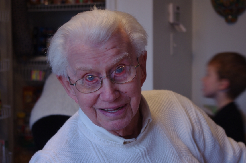 John Turley, in his aging backwards period