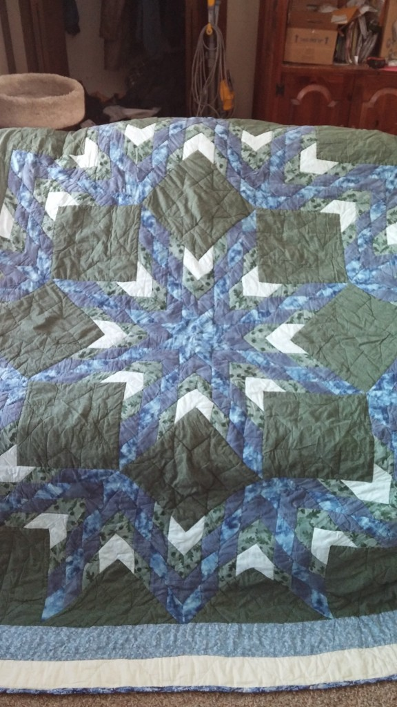 Our wedding quilt