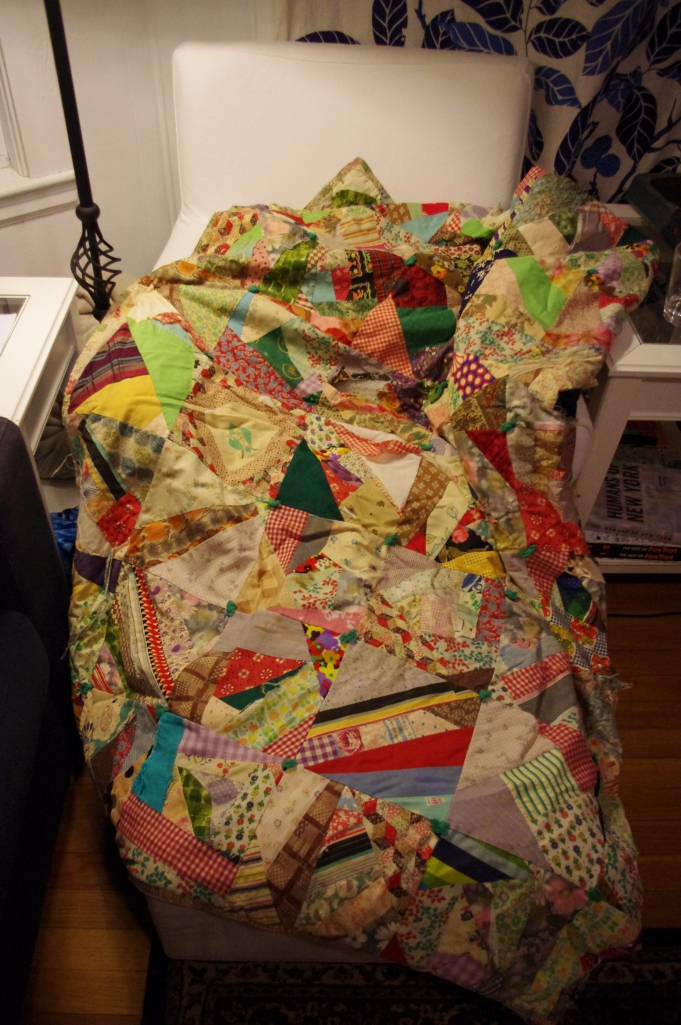 My crazy quilt