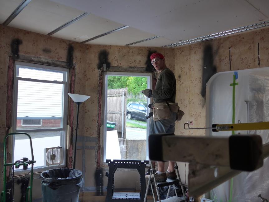 Drywall man