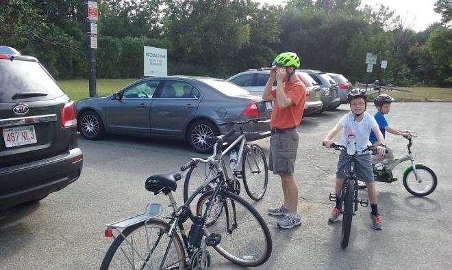 We've really enjoyed our bike rides!