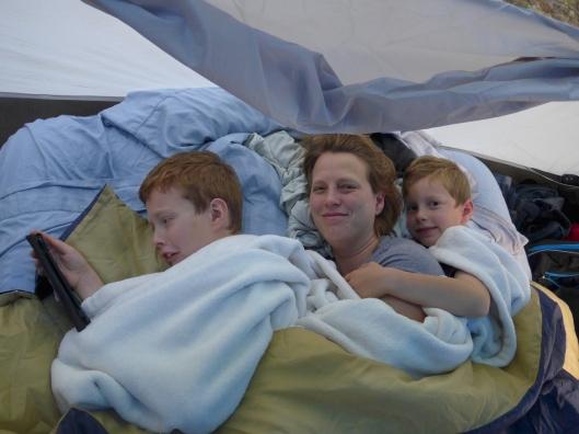 The night before the mattress went pfllmph