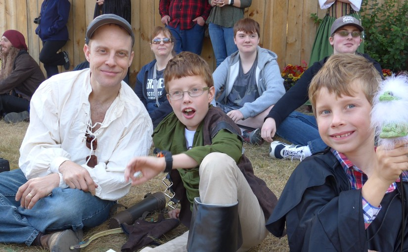 A Connecticut Yankee in King Richard's Faire