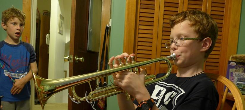 The trumpet shallsound