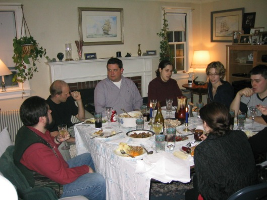 An early Mocksgiving, but not the first Mocksgiving
