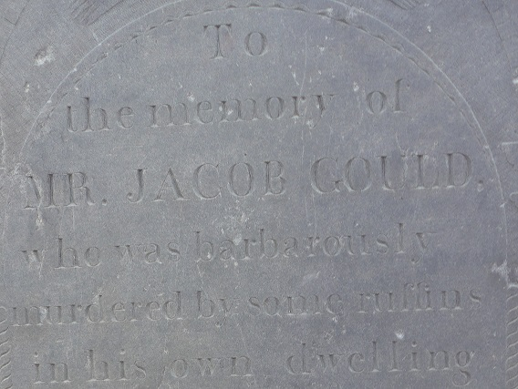 The murder of Jacob Gould