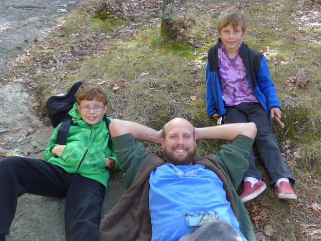 Three fine young men