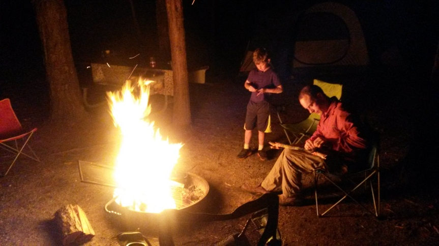 Fire's burning - gather round