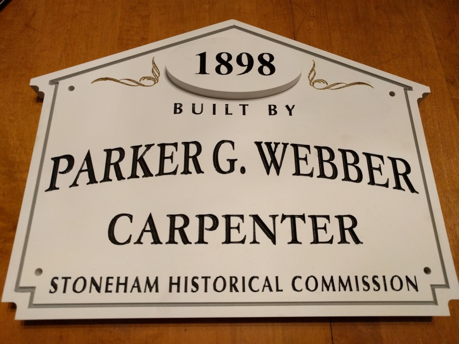 Thanks for building my home, Parker