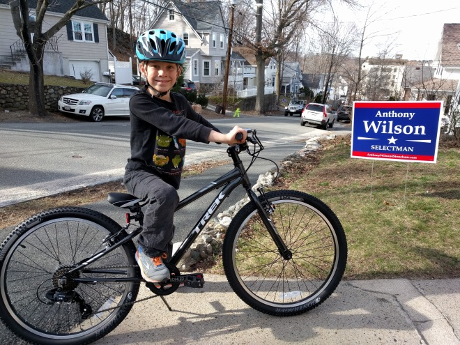 Thane thinks he'll be a great Selectman too!