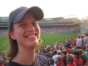 Red Sox fan - Fenway 2009