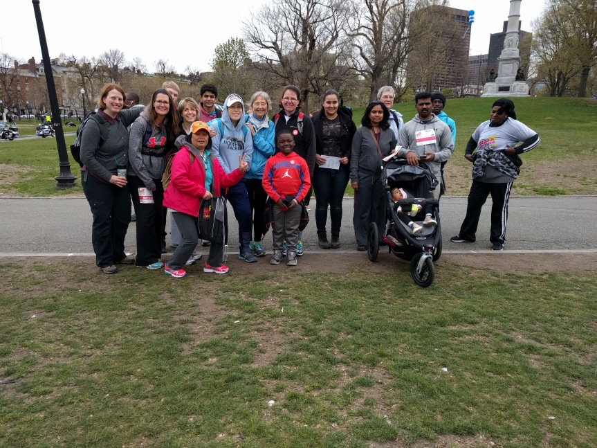 The Burlington Presbyterian Church Walk for Hunger team