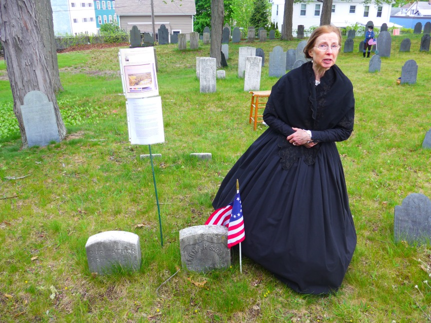 Rare to get a government tombstone for a nurse