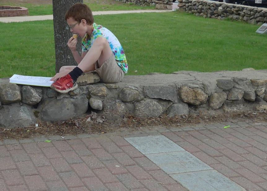 Ice Cream & Book