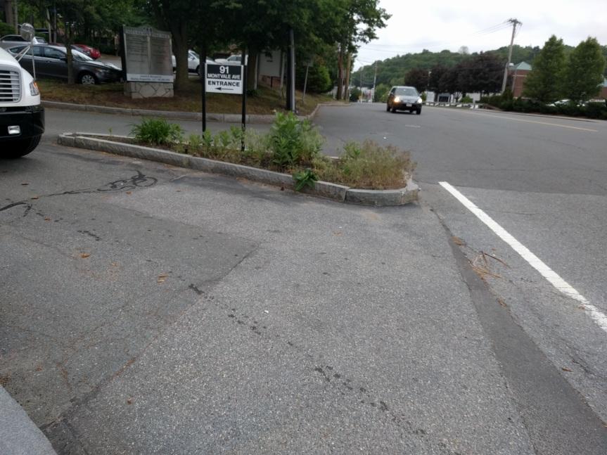 No sidewalk for YOU!