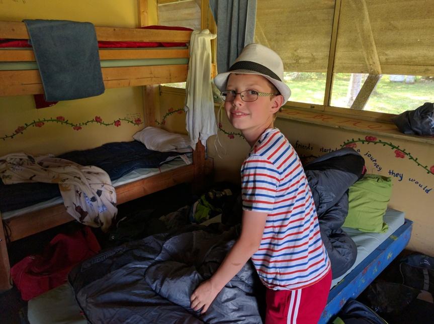 A happy camper