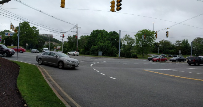 Intersection of Maple and Montvale