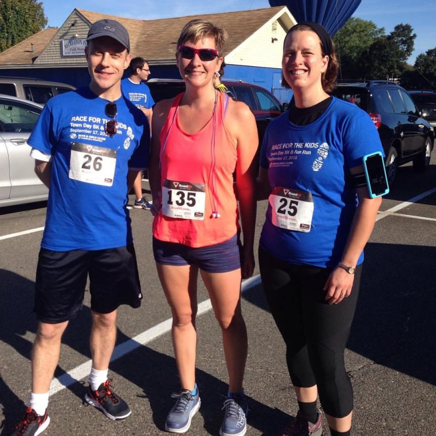 Spoiler - we just ran a 5k!