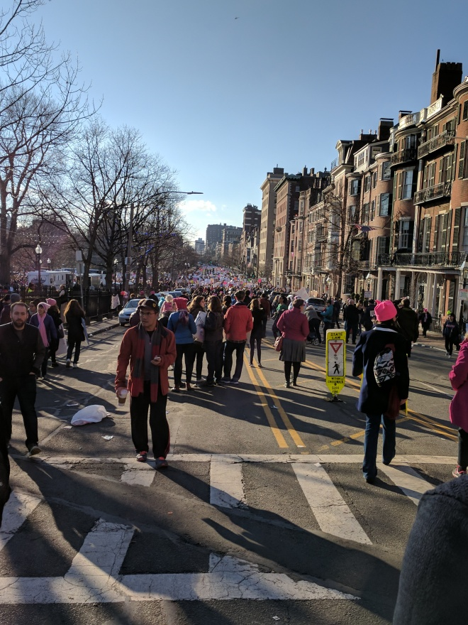I finished my march before some marchers could start