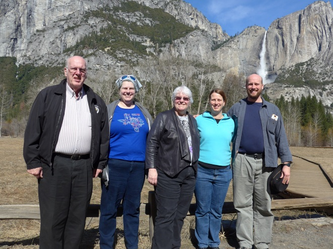 Johnstones in Yosemite