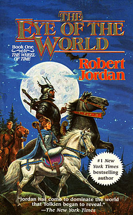 I often looked at the cover art and wondered what the heck they'd told the artist, who had clearly never read the books.