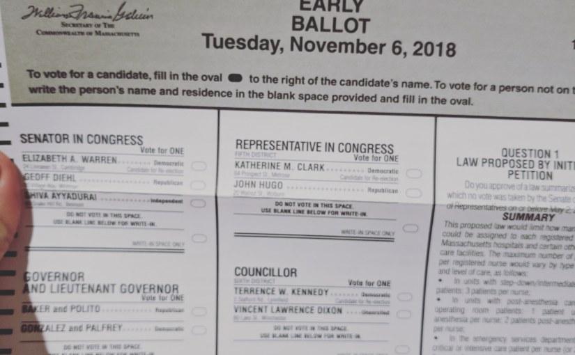Stoneham Elections Fall2018